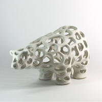 CERAMIC COW 002 - CRAFTED by Athima Tongloom