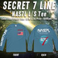 NAS7L ロンT EARTH BLUE