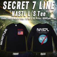 NAS7L ロンT BLACK