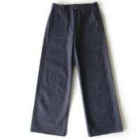 Wide Pants SAKANA Denim [indigo]