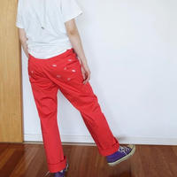 Straight Pants [ Red ]