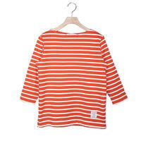 BOWBOW T-shirts [ Orange&orange race ]