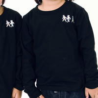 KID'S   SUMO T-shirts  Long Sleeve  [Black]