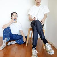 Embroidery T-shirts SAKANA   [Vanilla]