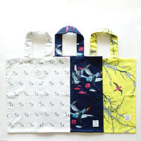 SEED Print Regular Tote Bag KAKERU,ROBA,UME