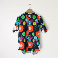 Cotton Print Shirts FURAWA  [Black]