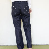 DENIM STRAIGHT PANTS