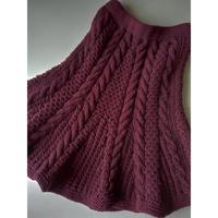 Hand Knitted Skirt (手編みスカート)