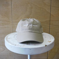 seesaw cap beige (white embroidery)