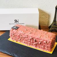 butter layer cake 〜red fruits & pistachio〜 / バタークリームケーキ <赤い果実とピスタチオ>