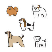 Stickers - Dogs #4