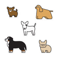 Stickers - Dogs #5
