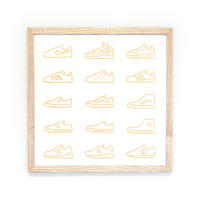 Silk Screen - Sneakers/ Gold