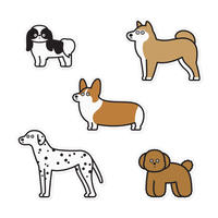 Stickers - Dogs #6