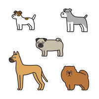Stickers - Dogs #3