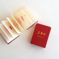 豆本 ABC Book