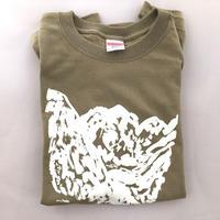 マメイケダTシャツ「ヒュッテある。」