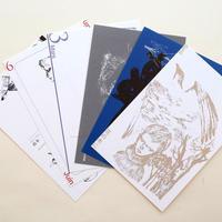 宇野亜喜良『新婦人』ポストカード6枚セット