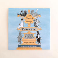 THE EDWARD GOREY PRACTICAL CATS 2017カレンダー