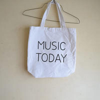 MUSIC TODAY トートバッグ