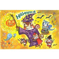 かぼちゃの提灯(ハロウィン)