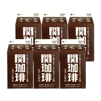 500ml 6本入り徳用セット【関珈琲500ml×6本】