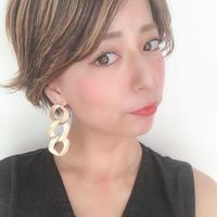 antique metal earring
