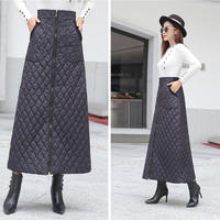 quilting long skirt