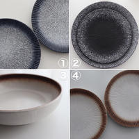 usually plates (2 piece)