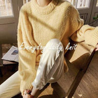 【即納】color knit yello