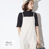 【just/1500】 petit high neck mellow tops