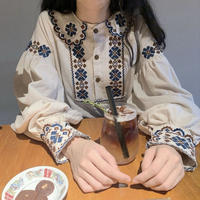 Tyrolean blouse