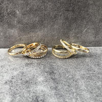 【送料込2500yen】4 consecutive rings
