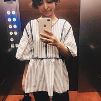 stripe Aline tops