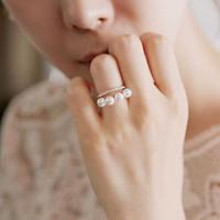 【送料込】Pearl ring