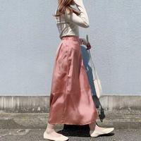 【just/2000】 Satin skirt