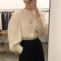 【即納】soft lantern shirt