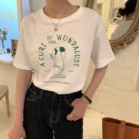 Green print Tshirt