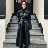 【order only】Eco leather coat
