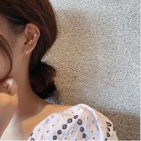 【送料込】Silver925 earring  & cuff set
