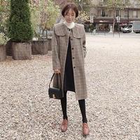 【即納】check coat(Sサイズ)