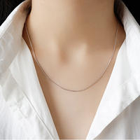 【送料込】silver925 simple necklace