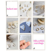 【送料込1500yen】Silver925 earrings #1