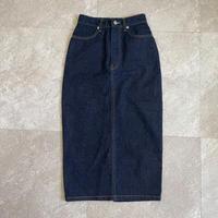 《AMIE original》denim skirt / indigo