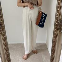 《AMIE original》プリーツpants    white