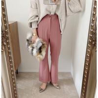 《AMIE original》フレアpants / pink