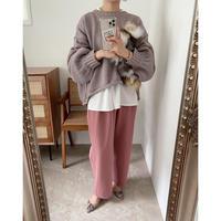 《AMIE original》 tuck pants / pink