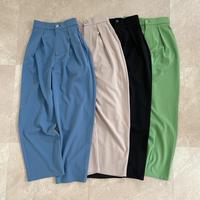 《AMIE original》 一部予約  tuck pants 4color