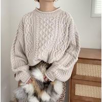 バルキー knitトップス / I.BEG