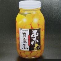 栗甘露煮2Sミニマロン(110~150粒/固形量650g)x12瓶【スポット商材】